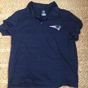NWOT Majestic Patriots Polo Shirt